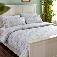 San Felice Light Blue Bedding Egyptian Cotton Bedding Luxury Bedding Duvet Cover Set