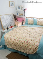Retro Owl Duvet Cover Set Owl Bedding Set