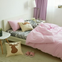I Love Zebra Pink Zebra Print Bedding Animal Print Bedding Duvet Cover Set