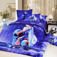 Aquarius Oil Painting Style Zodiac Signs Bedding Set