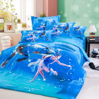Capricorn Oil Painting Style Zodiac Signs Bedding Set