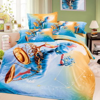Libra Oil Painting Style Zodiac Signs Bedding Set