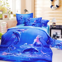 Pisces Oil Painting Style Zodiac Signs Bedding Set