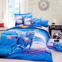Sagittarius Oil Painting Style Zodiac Signs Bedding Set