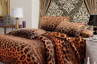 Elegance Cheetah Print Bedding Sets