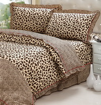 Leopard Printing Cheetah Print Bedding Sets