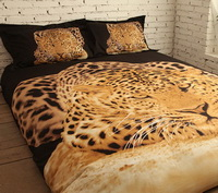 Leopard Cheetah Print Bedding Sets