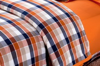 Orange College Dorm Room Bedding Sets