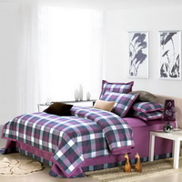 Purple College Dorm Room Bedding Sets