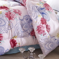 All Flowers Bloom Together Multicolor Comforter Down Alternative Comforter Cheap Comforter Teen Comforter