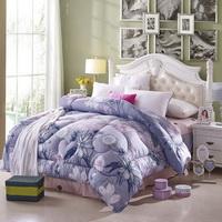 Charming Flowers Multicolor Comforter Down Alternative Comforter Cheap Comforter Teen Comforter