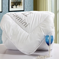 Gemini White Comforter Down Alternative Comforter Cheap Comforter Kids Comforter