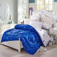 Star In My Heart Blue Comforter Moons And Stars Comforter Down Alternative Comforter