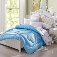 Star Knows My Heart Lake Blue Comforter Moons And Stars Comforter Down Alternative Comforter