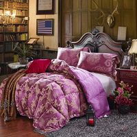 Victoria Purple Comforter Luxury Comforter Down Alternative Comforter