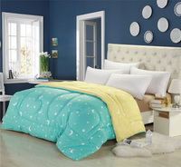 Milan Spring Light Blue Comforter