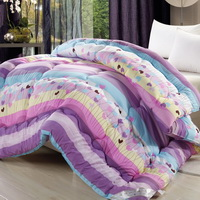 The Grass Purple Comforter