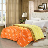 Warm Autumn Orange Comforter
