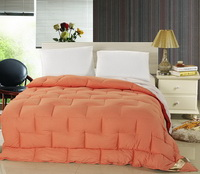 Double Orange Down Comforter