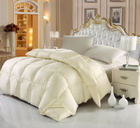 Beige Duck Down Comforter