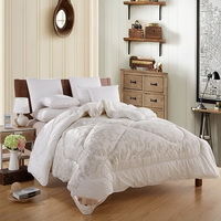 Hand In Hand White Cashmere Comforter