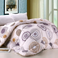 Circle Fashion Beige Comforter