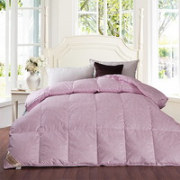 National Beauty And Heavenly Fragrance Pink Duck Down Comforter