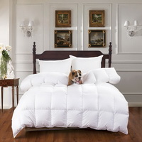 White Luxury Duck Down Comforter