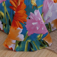 Butterflies In Flowers Duvet Cover Set 3D Bedding