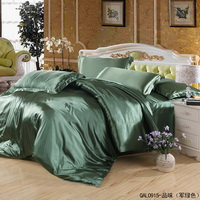 Taste Light Green Bedding Silk Bedding