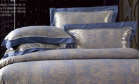 Audrey Blue Grey Luxury Bedding Wedding Bedding