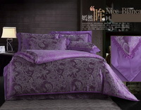 Mystery Purple Luxury Bedding Wedding Bedding