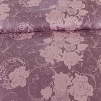 Estee Purple Jacquard Damask Luxury Bedding