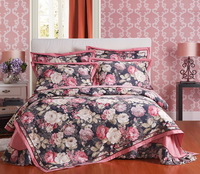 Carnival Bean Red Flowers Bedding Luxury Bedding