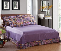 Seduction Purple Flowers Bedding Luxury Bedding