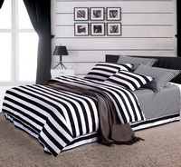 Fave Stripes Black And White Bedding Classic Bedding