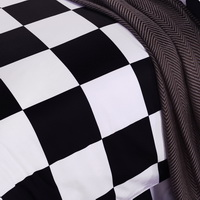 Millais Lattices Black And White Bedding Classic Bedding
