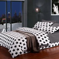 Tino Stars Black And White Bedding Classic Bedding