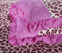 Cheetah Print Pink Princess Bedding Teen Bedding Girls Bedding
