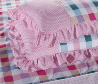Grids And Stripes Pink Princess Bedding Teen Bedding Girls Bedding
