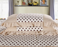 Lots Of Dots Yellow Grey Princess Bedding Teen Bedding Girls Bedding