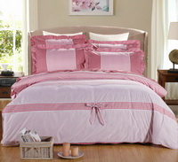 Pinstripes Light Red Princess Bedding Teen Bedding Girls Bedding