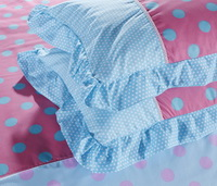 The Circles Sky Blue Princess Bedding Teen Bedding Girls Bedding
