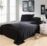 Pure Enjoyment Black Silk Bedding Silk Duvet Cover Set