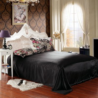 Be Born In The Purple Black Silk Duvet Cover Set Silk Bedding