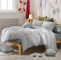 Monaco Dusty Blue Knitted Cotton Bedding 2014 Modern Bedding