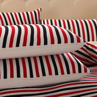 Petty Bourgeoisie Red Knitted Cotton Bedding 2014 Modern Bedding
