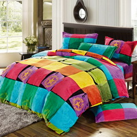 Fancies Winter Duvet Cover Set Flannel Bedding