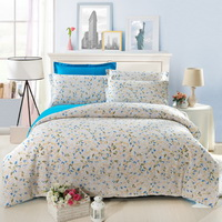 Romantic Melody Blue Garden Bedding Flowers Bedding Girls Bedding