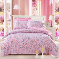 Romantic Melody Pink Garden Bedding Flowers Bedding Girls Bedding